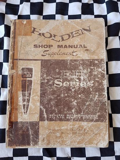 Genuine Holden Eh workshop manual Supplement