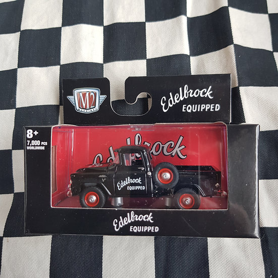 M2 Machines 1;64 Boxed 1958 GMC Stepside 4x4 Truck Edelbrock Equipped