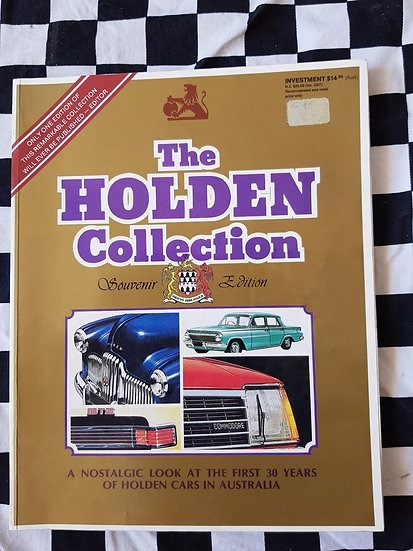 The Holden Collection ( original Sales Brochures from Fx to Vb)