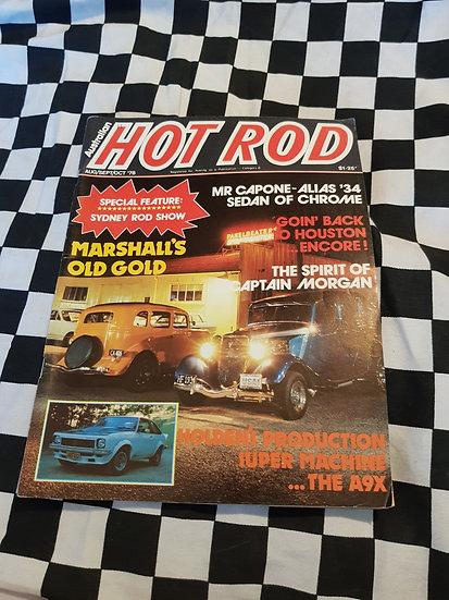 AUSTRALIAN HOT ROD Aug/Sept/ Oct 1978