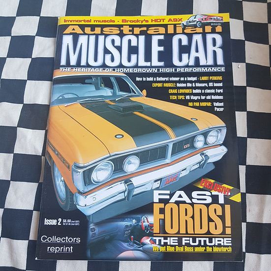 Australian Muscle Car Magazine Issue 2 COLLECTORS REPRINT
