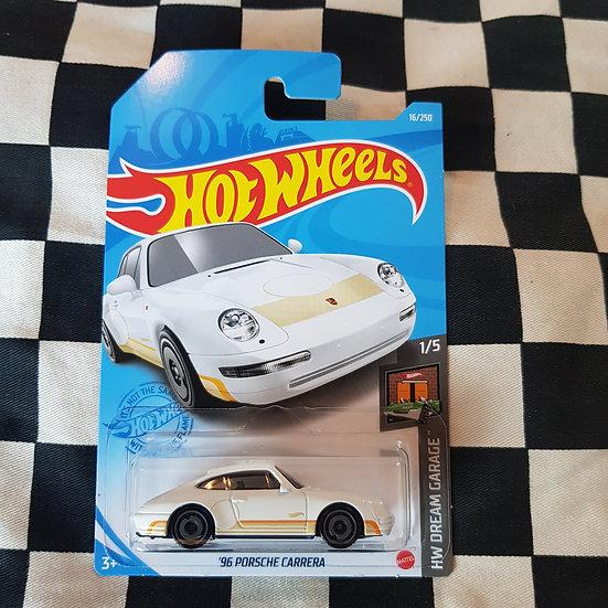 Hot Wheels 2020 Dream Garage 96 Porsche Carrera White