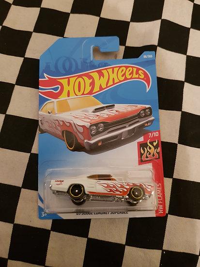 Hot Wheels 2018 Flames 68 Dodge Coronet Super Bee
