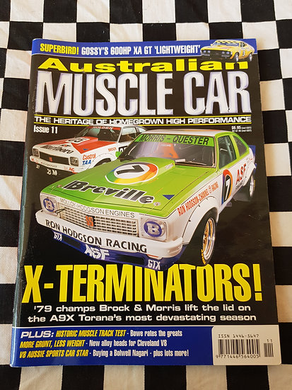 AUSTRALIAN MUSCLE CAR magazine #11