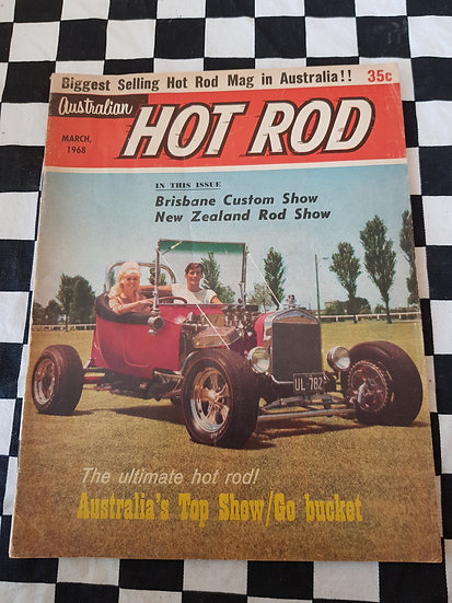 AUSTRALIAN HOT ROD march 1968