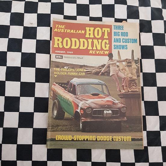 Australian Hot Rodding Review August 1969