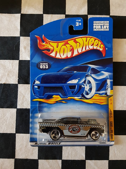 Hot Wheels 2001 Turbo Taxi Series 57 Chevy