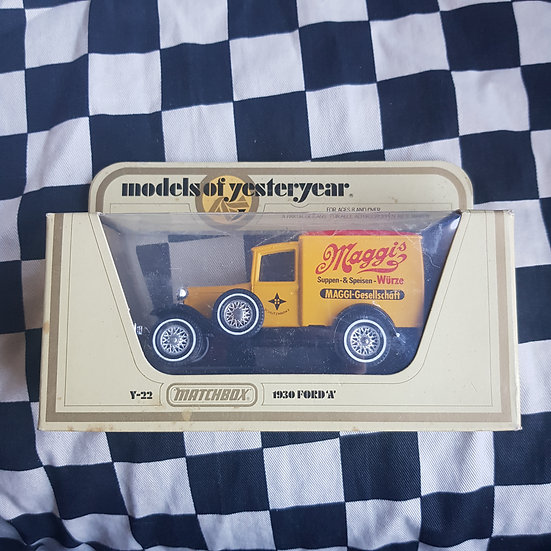 Matchbox Models of Yesteryear Y22 1930 Ford Model A Van Maggi's