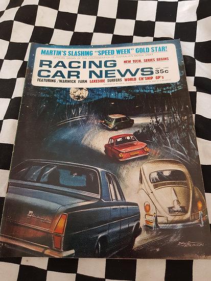 RACING CAR NEWS 9/66