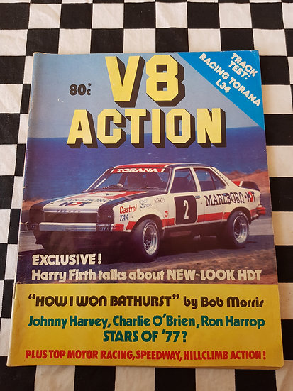V8 ACTION magazine 1977 (mostly torana's)