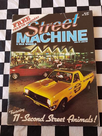 STREET MACHINE & VAN WHEELS issue #2 dec 81 jan 82