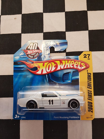 Hot Wheels 2008 First Editions Ford Mustang Fastback