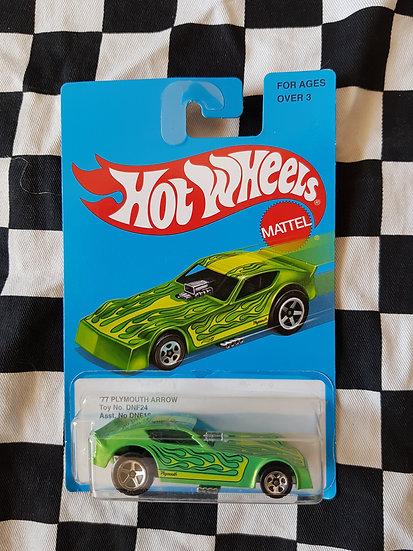 Hotwheels Nostalgia Plymouth arrow green (funny car)