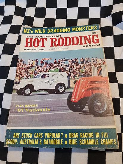 Australian Hot Rodding Review  February 1968