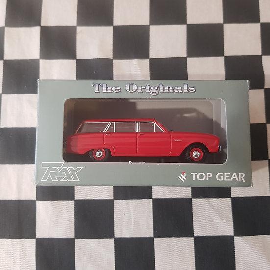 Trax 1:43 TR30B Ford Falcon XK Wagon Red