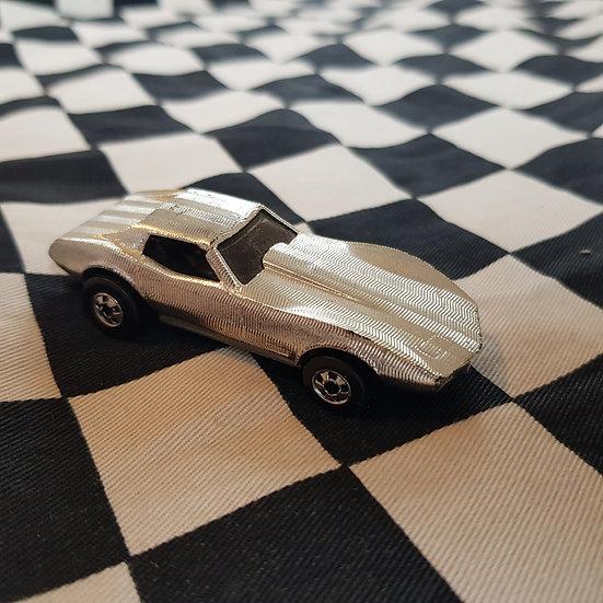 Vintage Loose Blackwall C3 Chev Corvette Chrome
