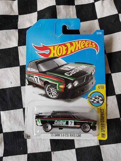 Hot Wheels 2015 Speed Graphics Castrol 73 BMW 3.0 CSL Race Car