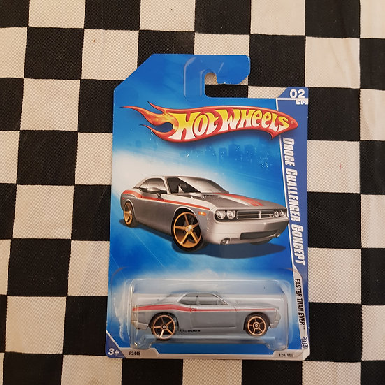 Hot Wheels 2009 Faster Than Ever Dodge Challenger Concept Grey