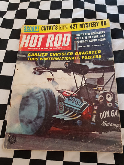 HOT ROD magazine (USA) May 1963