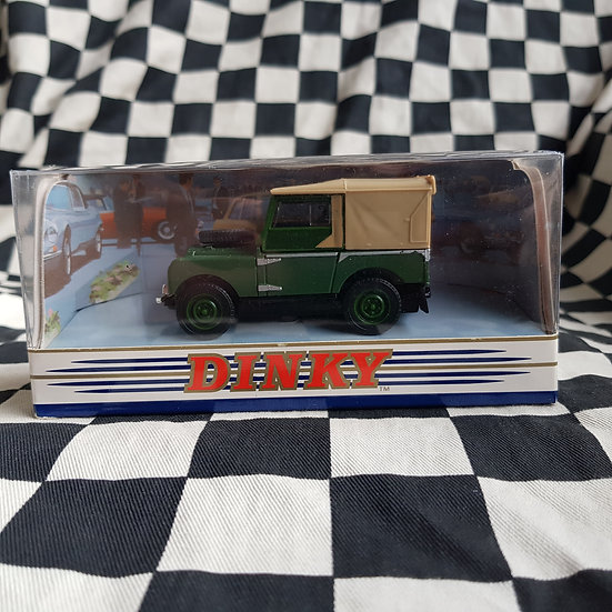 Dinky 1:43 By Matchbox Boxed 1949 Land Rover Green