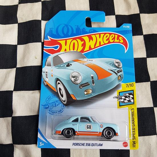 Hot Wheels 2021 Speed Graphics Gulf Porsche 356 Outlaw