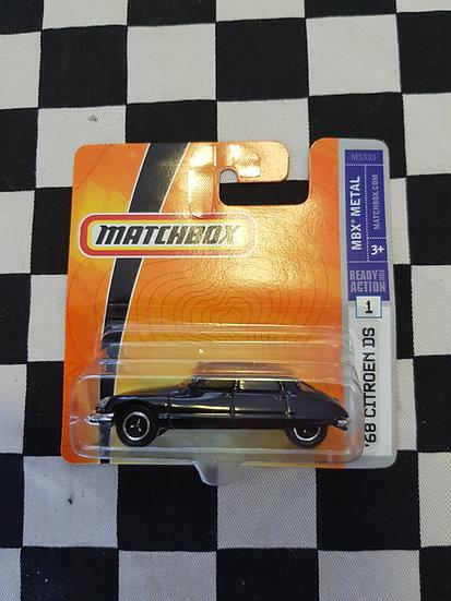 Matchbox 2007 68 Citroen DS Black