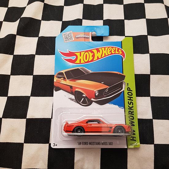 Hot Wheels 2013 Workshop 69 Ford Mustang Boss 302 Orange