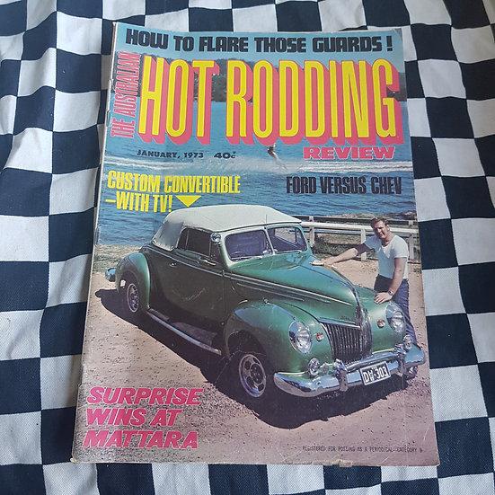 Australian Hot Rodding Review Jan 1973