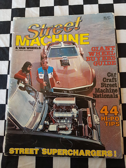 STREET MACHINE & VAN WHEELS issue #1 oct nov 1981