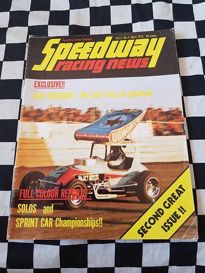 Speedway Racing News Vol 1 #2 Aust & NZ