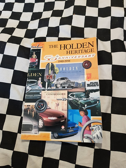 The Holden Heritage 50th Anniversary 1948-98 Book