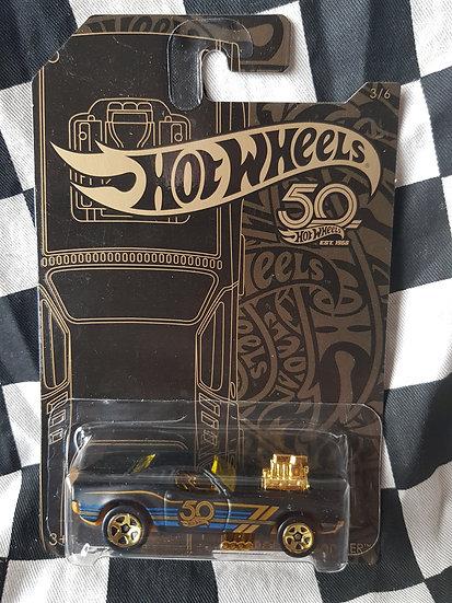 Hotwheels 50th Black & Gold Rodger Dodger