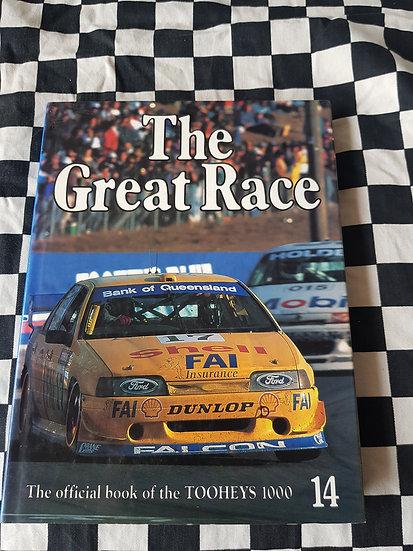 The Great Race #14 1994-95 Book  Bathurst Tooheys 1000