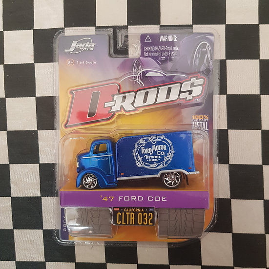 Jada D Rods 47 Ford COE Ford Motor Company Delivery Truck HTF