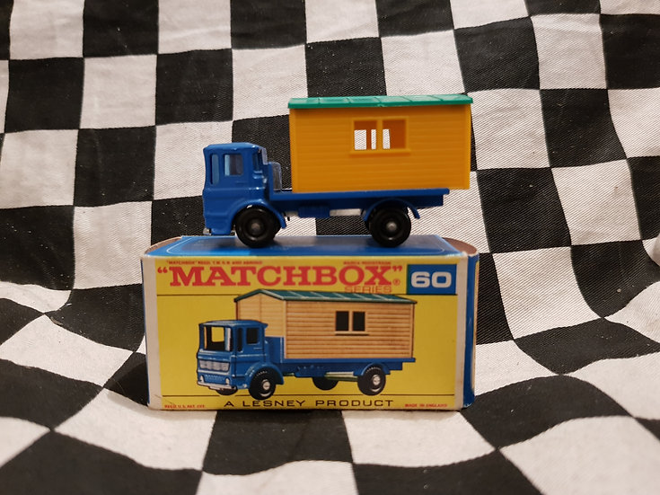 Vintage Matchbox Lesney Office Site Truck MIB