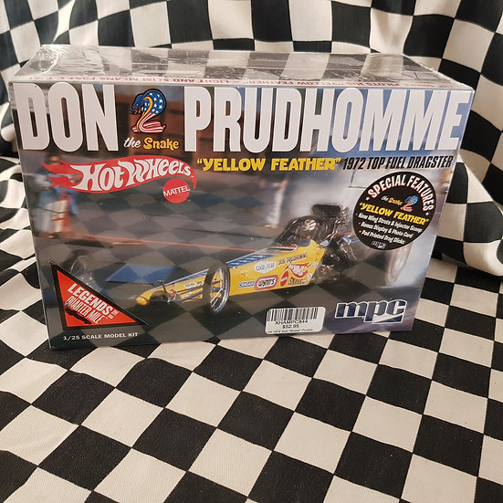 Don Prudhomme Hot Wheels The Snake 1972 Top Fuel Dragster Model Kit Sealed New