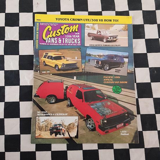 Custom Vans & Trucks Magazine #53