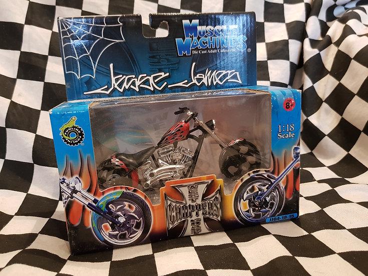 Muscle Machines Jesse James West Coast Chopper EL DIABLO RICID Bike
