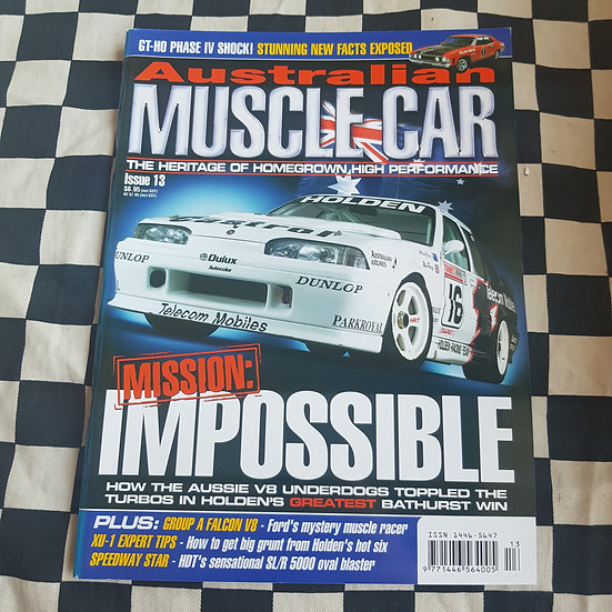 Australian Muscle Car Magazine Issue 13