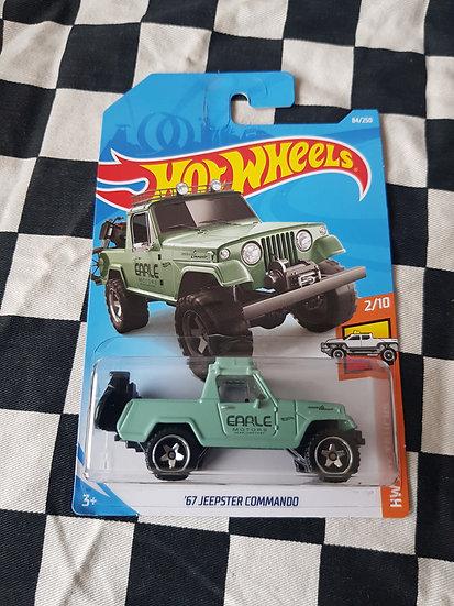 Hot Wheels 2019 Hot Trucks Series 67 Jeepster Commando