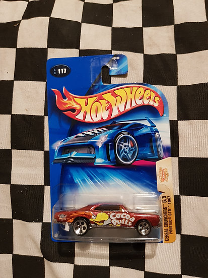 Hot Wheels 2004 Cereal Crunchers 1967 Pontiac GTO