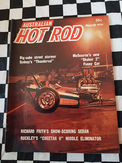 AUSTRALIAN HOT ROD march 1970