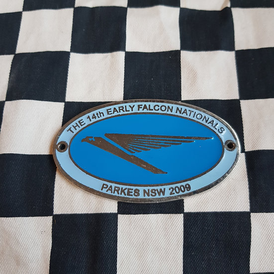 Early Falcon Nationals Plaque/Badge 2009