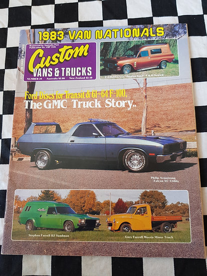 CUSTOM VANS & TRUCKS magazine #29