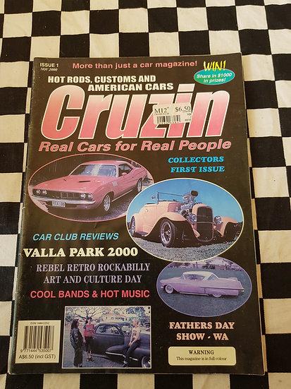 CRUZIN magazine ISSUE #1 nov 2000