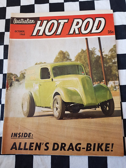AUSTRALIAN HOT ROD october 1968