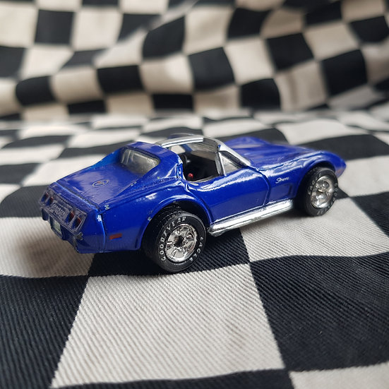 Matchbox Loose Rubber Tyre C3 Corvette Blue