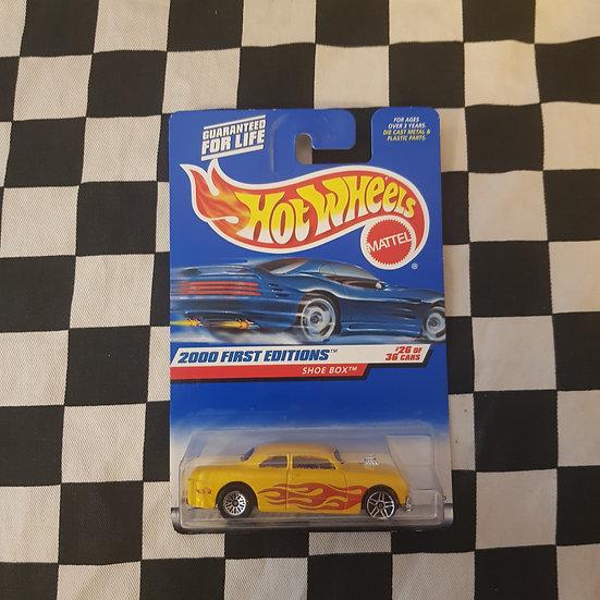 Hot Wheels 2000 1st Edition Shoe Box ERROR 50 Ford