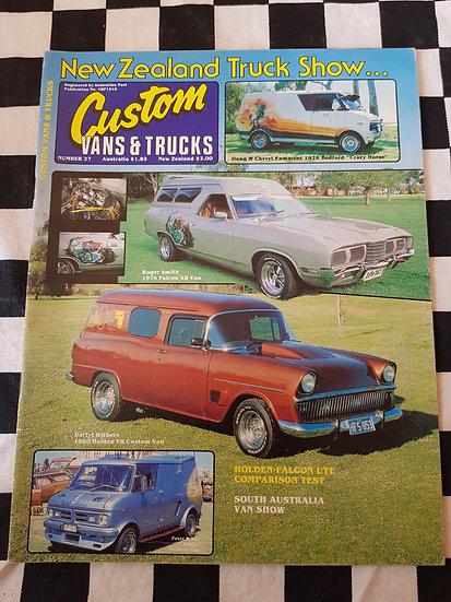 CUSTOM VANS & TRUCKS magazine #27