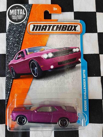 Matchbox Dodge Challenger SRT8 (pink)